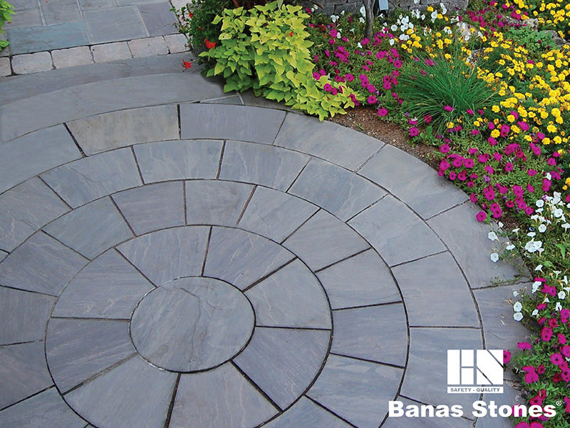 Sandstone by Banas for your Garden in Mississauga