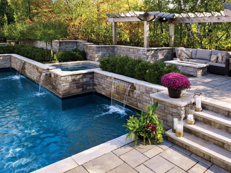 Lafitt® Tandem® Wall by Permacon